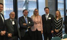 CEDEC-Präsident Dr. Florian Bieberbach trifft EU-Energiekomissarin Kadri Simson