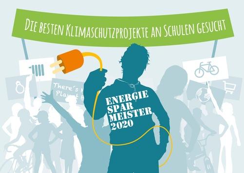 Klimaschutz an Schulen: Energiesparmeister 2020 gesucht / Preise im Wert von 50.000 Euro für 16 Landessieger und einen Sonderpreisträger / Bewerbung bis 31. März 2020 auf www.energiesparmeister.de