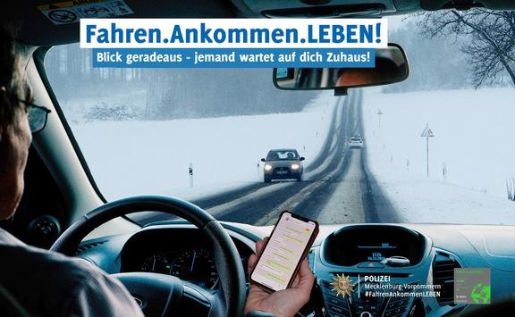 "POL-HRO: Beginn der Kontrollen ""Fahren.Ankommen.LEBEN!"" zum Thema Ablenkung"