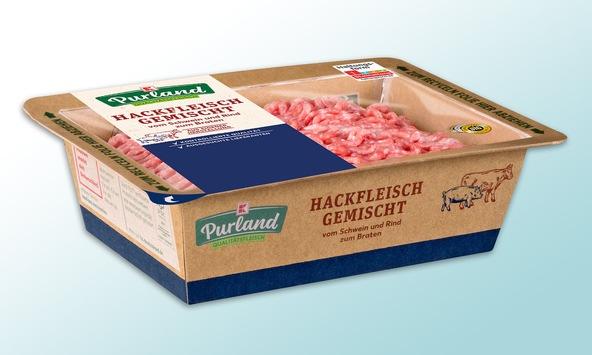 Kaufland setzt mit neuer Fleischverpackung auf Plastikreduktion / Die nachhaltige Alternative ist ab sofort in noch mehr Filialen erhältlich