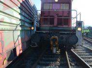 POL-Bremerhaven: Güterzug blockiert Franziusstraße