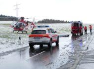 FW Stockach: Freiwillige Feuerwehr Stockach wird an einem Tag zu drei schweren Verkehrsunfälle alarmiert.