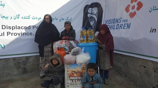 Winterhilfe für 540 notleidende Familien – Nothilfeaktion im Flüchtlingscamp Pul-E-Sheena in Kabul, Afghanistan im Februar 2020 erfolgreich abgeschlossen
