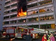 FW-M: Wohnung komplett ausgebrannt (Laim)