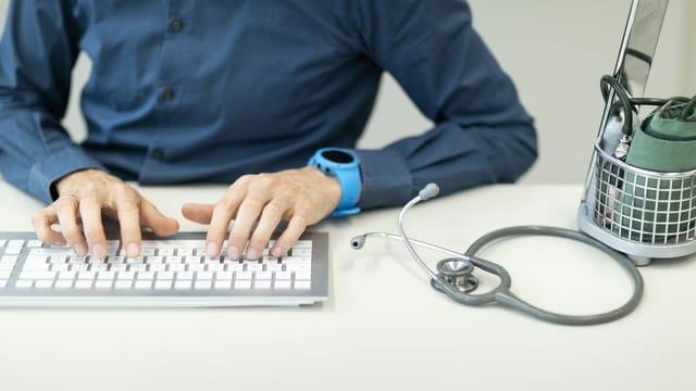 Mit dem Passwort «Praxis 123» in die Krankenakte