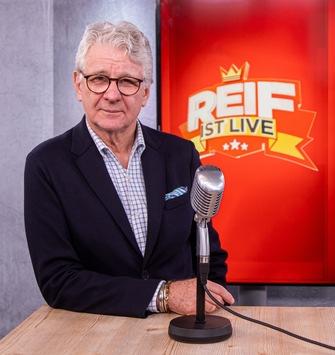 BILD Programmhinweis: REIF IST LIVE – Fußball-Talk mit Marcel Reif / Erste Live-Video-Sendung am Montag, 17. Februar 2020, um 09.00 Uhr
