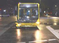 POL-Bremerhaven: Beim Überholen Linienbus gerammt