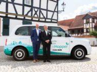 Ridepooling on-demand: Offenbach setzt weiteren Meilenstein mit dem kvgOF Hopper: Vorausbuchung in der App möglich