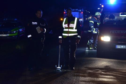 POL-STD: 57-jähriger Autofahrer bei Verkehrsunfall im Alten Land ums Leben gekommen
