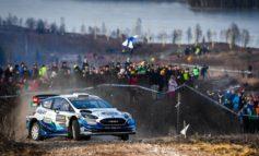 M-Sport Ford belegt bei schwieriger Rallye Schweden die Plätze fünf und acht
