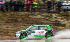 Rallye Schweden/WRC3: SKODA Privatier Lindholm wird Zweiter - Solberg bei SKODA Debüt auf Rang fünf