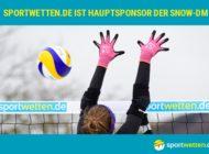 sportwetten.de wird Hauptsponsor der 3. Deutschen Snow-Volleyball Meisterschaften