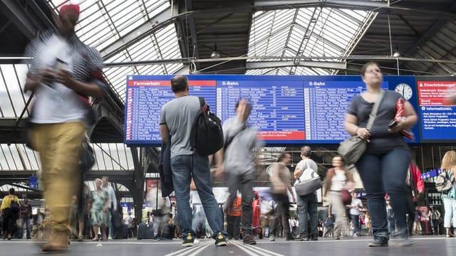 SBB-Mitarbeiter dürfen wieder persönliche Durchsagen machen
