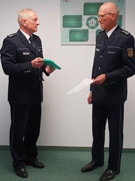 POL-KN: Amtswechsel beim Polizeirevier Stockach – Gerhard Buchstab als Leiter des Polizeireviers verabschiedet – Wolfgang Widmann zum Nachfolger berufen