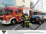 FW-M: Wohnung nach Brand nicht mehr bewohnbar (Au-Haidhausen)