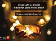 Bringe Licht ins Dunkel mit Deinen Social-Media-Daten