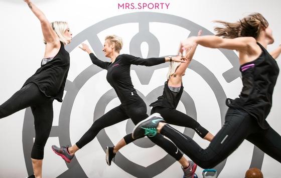 Mrs.Sporty unterstützt mit Trainingsprogrammen und persönlicher Betreuung Frauen zuhause