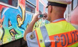 Bundespolizeidirektion München: 15-jähriger Grafftisprayer gefasst