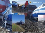 Bundespolizeidirektion München: Bahnbetriebsunfall bei Messfahrt: Ein leicht Verletzter bei Riss eines Luftkupplungsschlauches