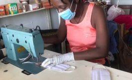 YOU Stiftung fördert Frauengruppen für Schutzmasken-Produktion in Afrika / Maßnahmen zum Schutz vor COVID-19 werden in Afrika dringend benötigt