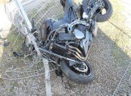 POL-OE: Kradfahrer stürzt und verletzt sich schwer