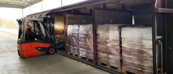 ALDI lässt mehr als 200 Tonnen Pasta in Sonderzügen aus Italien kommen