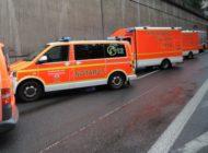 FW-BN: Schwerer Verkehrsunfall auf der BAB 555 in Richtung Köln / 2 Schwer mehrere Leichtverletzte.