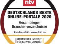 Deutschlands Beste Online-Portale: 11880.com erneut auf Platz 1