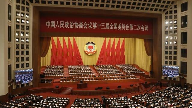 Chinas Volkskongress plant Eingriff in Hongkong