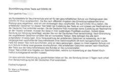 """POL-HST: Neue Betrugsmasche - Polizei warnt vor falscher """"Bundesstelle für Seuchenschutz"""""""