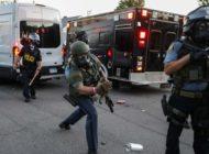 Polizei verhaftet CNN-Reporter – Ausschreitungen gehen weiter
