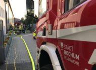 FW-BO: Ungewöhnlicher Brand in einer Industriehalle