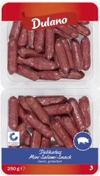 """Der Hersteller Schwarz Cranz GmbH & Co. KG informiert über einen Warenrückruf des Produktes """"Dulano Delikatess Mini Salami-Snack sort. classic, 250g"""""""