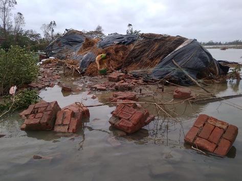 """Zyklon """"Amphan"""": Große Herausforderungen angesichts der Katastrophe in der Katastrophe / Hilfsorganisationen im Bündnis """"Aktion Deutschland Hilft"""" berichten von immensen Zerstörungen"""