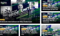 #Ride2Unite: SKODA ermöglicht per Livestream Austausch mit Radsport-Profis und motiviert Fans zum Sportmachen