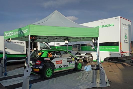 SKODA Motorsport Kundenservice: aus Mladá Boleslav zu Rallyes in aller Welt