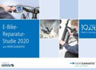 E-Bike-Reparatur-Studie 2020 von Wertgarantie: Der Akku ist die größte Schwachstelle am E-Bike