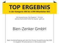 """Bien-Zenker macht Kunden zu Fans der eigenen Marke / Auszeichnung als """"Deutschlands Kundenchampion 2020"""" bescheinigt Bien-Zenker hervorragenden Erfolg bei der Kundenbindung"""