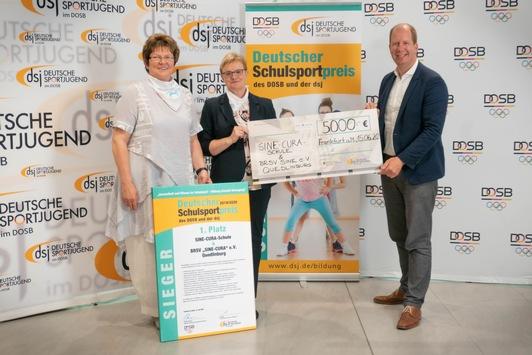Neues Format, alt bewährter Inhalt / Verleihung des Deutschen Schulsportpreises lief am Abend des 19.06.2020 digital