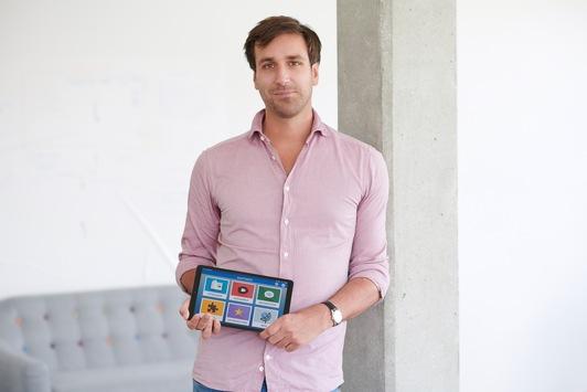 Münchner Gründer schenkt Senioren mit innovativem Tablet mehr Lebensfreude