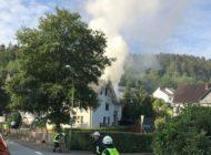 FW Drolshagen: Zimmerbrand in Außenwohngruppe eines Kinderheims