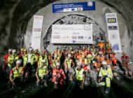 Brenner Basistunnel: Durchschlag des Erkundungsstollens geglückt