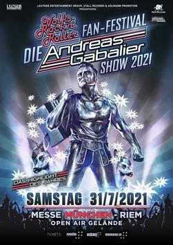 """Konzertverschiebung: """"DIE"""" ANDREAS GABALIER SHOW 2021 in München / 365 – Die magische Zahl für alle Volks-Rock´n´Roller Fans"""