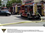 FW-M: Wohnungsbrand mit zwei Verletzten (Sendling-Westpark)