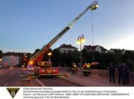 FW-M: 18-Jähriger stürzt von Wittelsbacherbrücke (Glockenbachviertel)