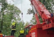 FW-M: Unwetter über München (Stadtgebiet)