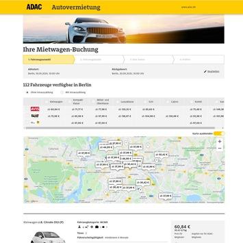 Neu: Stations-Karte für Mietwagen hilft bei der Suche / Nur die ADAC Autovermietung bietet eine virtuelle Umgebungssuche an/ 8.000 Mietstationen aller Partner weltweit angeschlossen