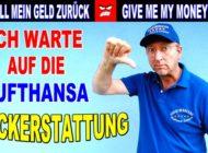 Ticket Refund Demo! Lufthansa zahlt prominentem TOP Kunden Geld nicht zurück