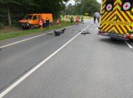 FFW Fredenbeck: Zwei Schwerverletzte nach Verkehrsunfall auf B74