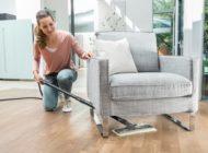 Expertentipps für die Reinigung von Laminat, Edelstahloberflächen und für das Auffrischen von Teppichen mit dem Dampfreiniger